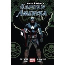 Kapitan Ameryka. Steve...
