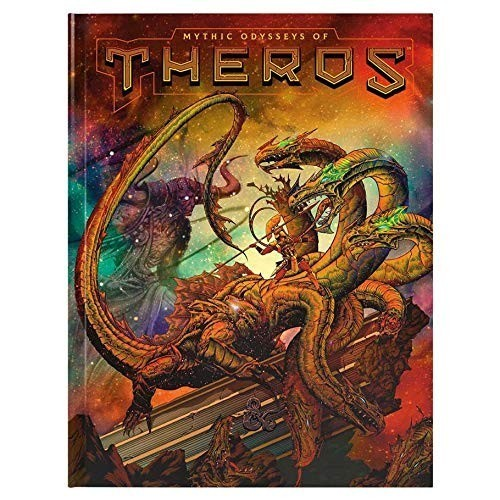 Dungeons & Dragons RPG - Mythic Odysseys of Theros (Altered Cover)