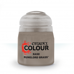 Citadel Base Runelord Brass...