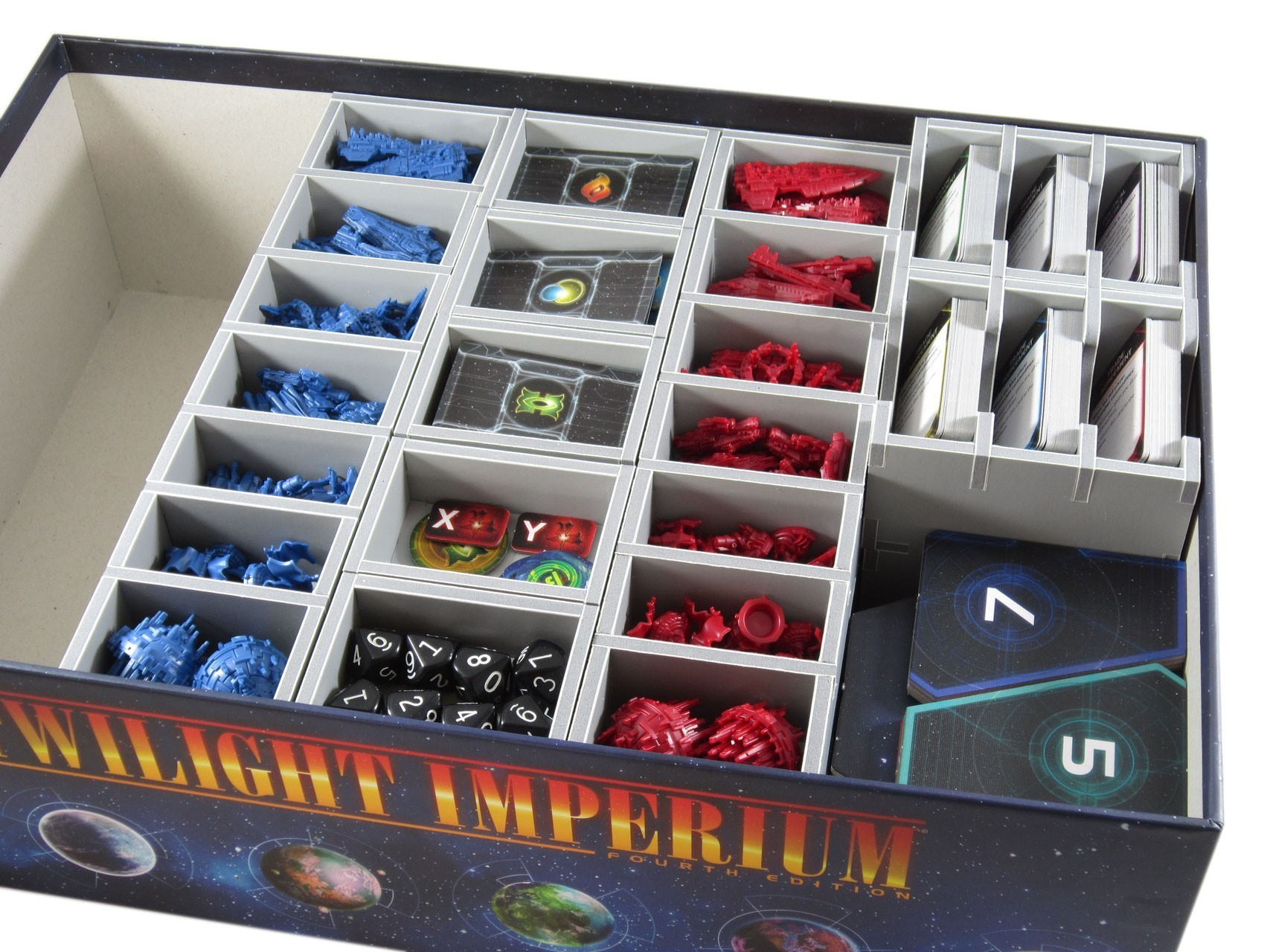 Folded Space - Twilight Imperium - Insert