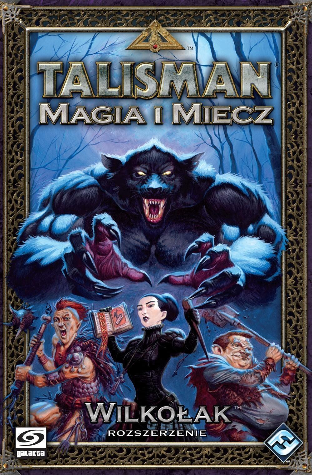 Talisman Magia i Miecz Wilkołak