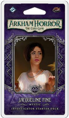 Arkham Horror LCG: Jacqueline Fine Investigator Deck