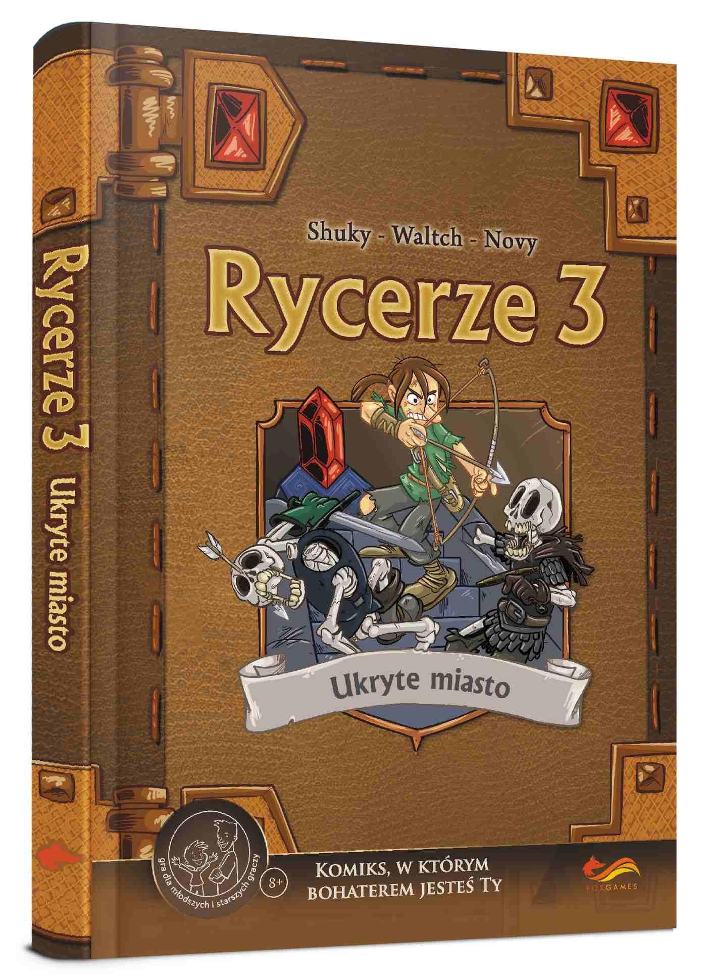 Komiks Paragrafowy - Rycerze 3 Ukryte Miasto