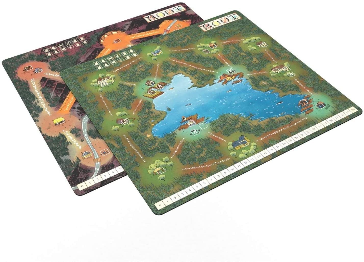Root Playmat Mountain / Lake