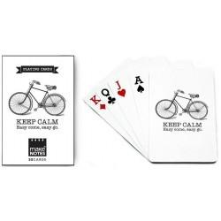 Karty do gry białe talia 55...