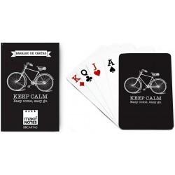 Karty do gry czarne talia...