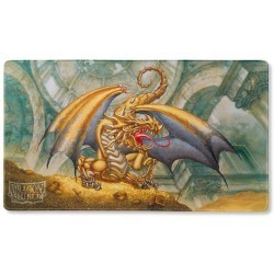 Dragon Shield - Playmat - Gold