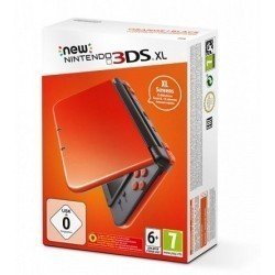 New Nintendo 3DS XL Orange...