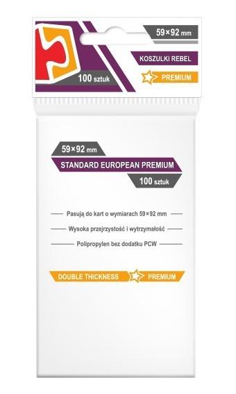 Koszulki Rebel (59x92) Standard European Premium 100szt