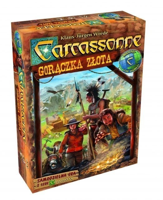 Carcassonne Gorączka Złota