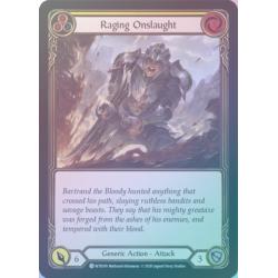 Raging Onslaught (WTR189C) [Foil]
