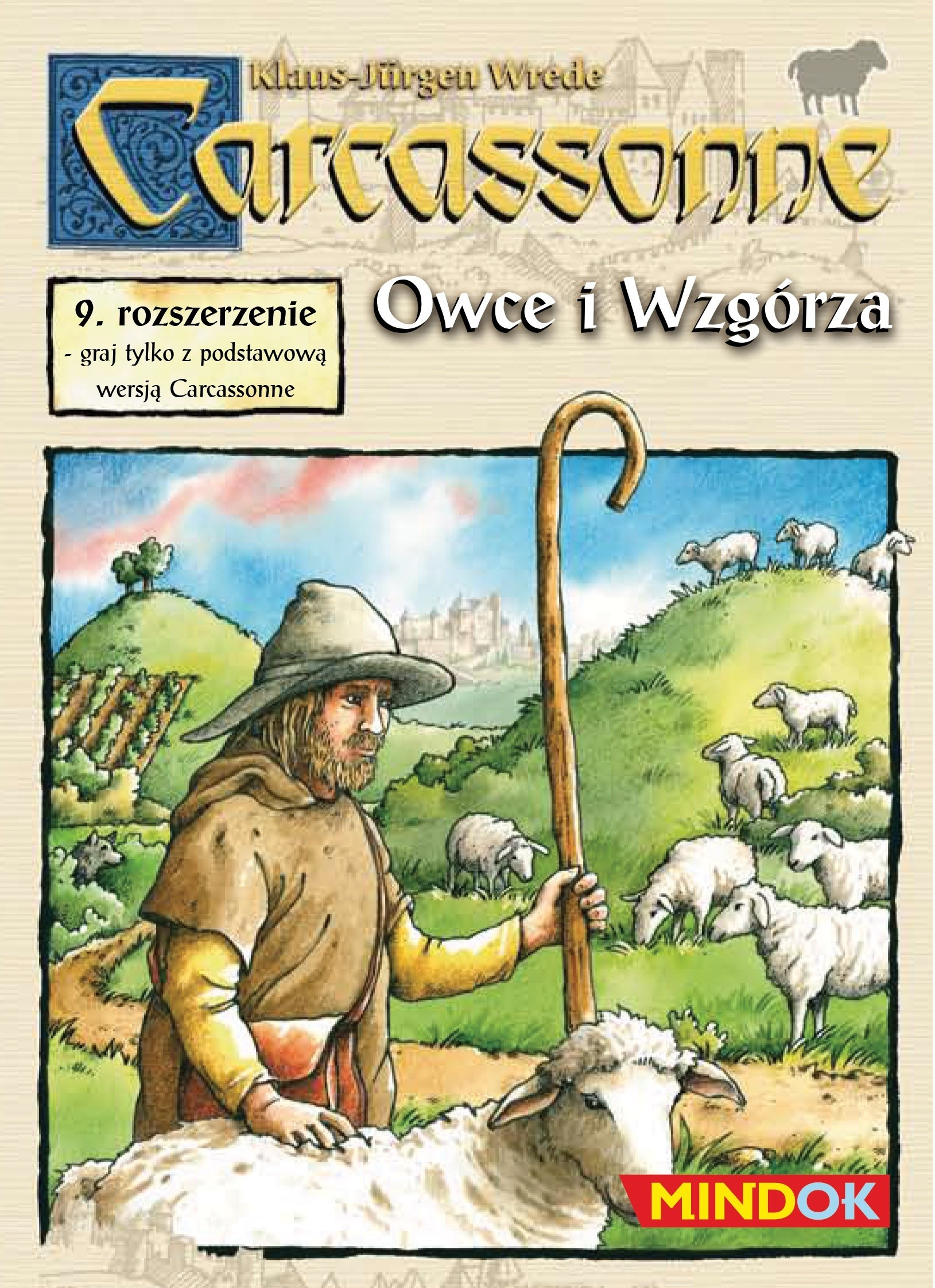 Carcassonne 9. Owce i Wzgórza