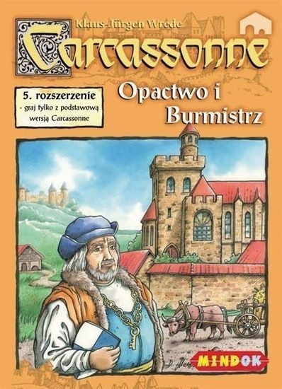 Carcassonne 5. Opactwo i Burmistrz