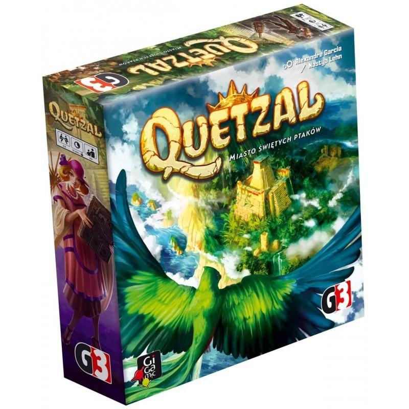 Quetzal - Miasto Świętych Ptaków