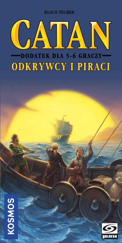 Catan Odkrywcy i Piraci - 5/6 graczy