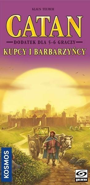Catan Kupcy i Barbarzyńcy - 5/6 graczy