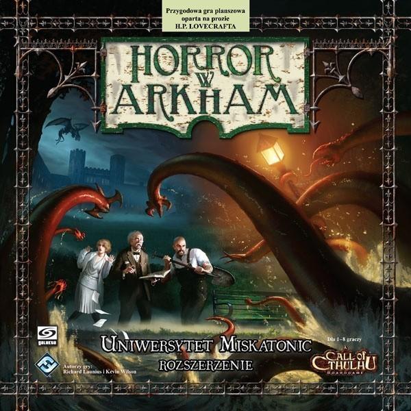 Horror w Arkham Uniwersytet Miskatonic