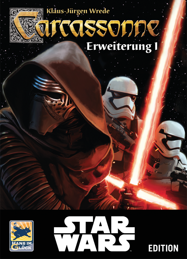 Carcassonne Star Wars - Rozszerzenie 1