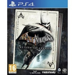 Batman Return To Arkham PL PS4