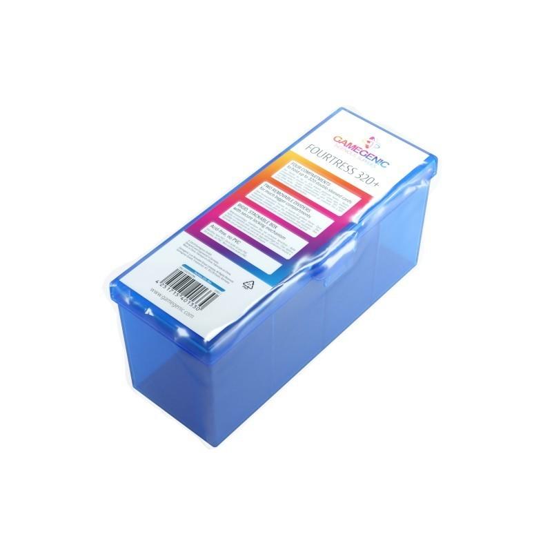 Gamegenic: Pudełko Fourtress 320+ - Niebieskie