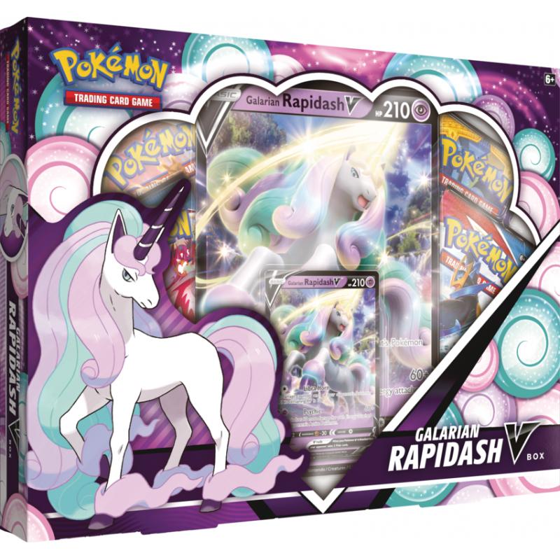 Pokemon TCG: Galarian Rapidash VBox