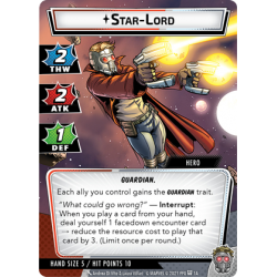 Marvel Champions: Star Lord Hero Pack