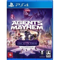 Agents of Mayhem PL PS4...