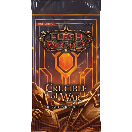 Flesh & Blood TCG: Crucible of War Unlimited Booster