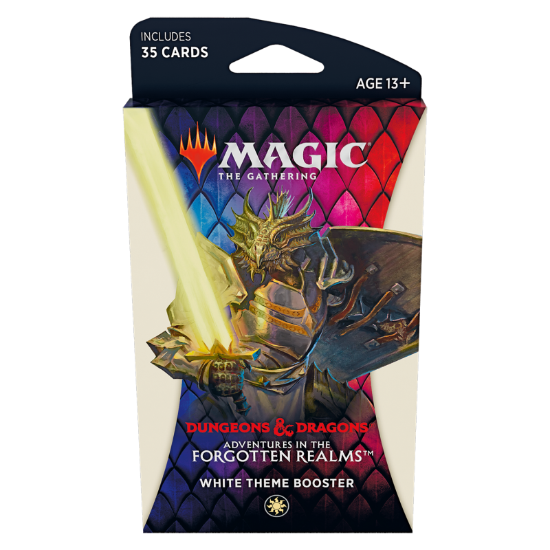 Magic The Gathering Adventures in the Forgotten Realms White Theme Booster