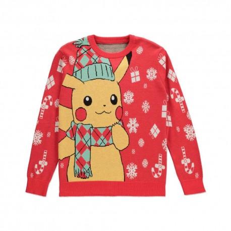 Sweter - Pokémon Christmas Pikachu