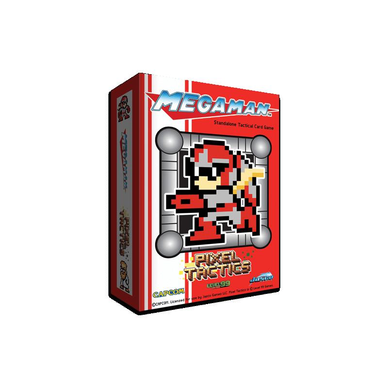 Pixel Tactics: Mega Man Red Edition