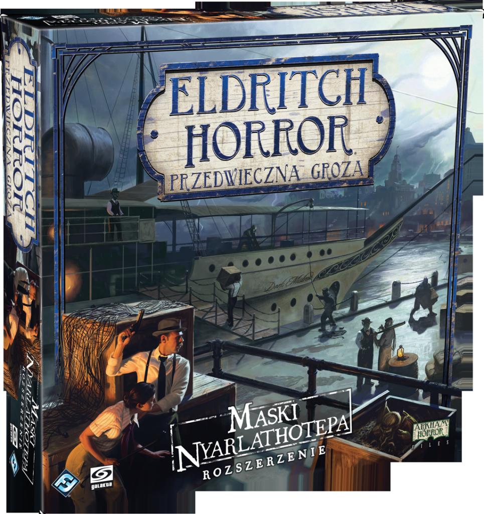 Eldritch Horror Maski Nyarlathotepa