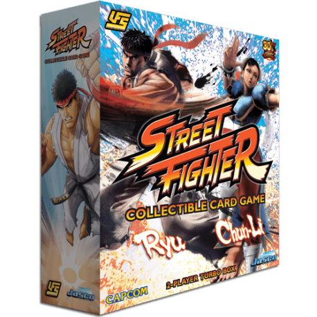 UFS - Street Fighter 2-Player Turbo Box