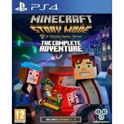 Minecraft Story Mode The...