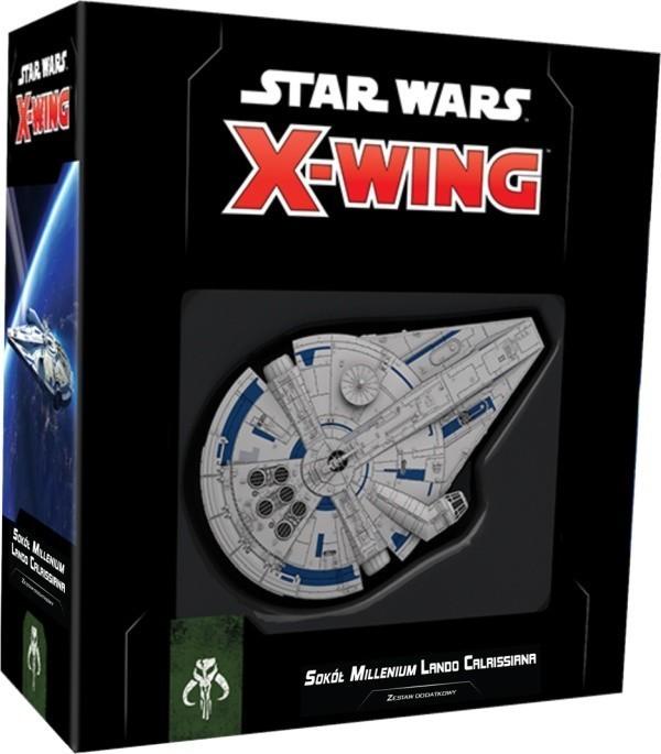 Star Wars X-Wing II edycja- Sokół Millenium Lando Calrissiana