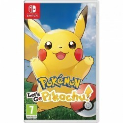 Pokemon Let's Go Pikachu! NS