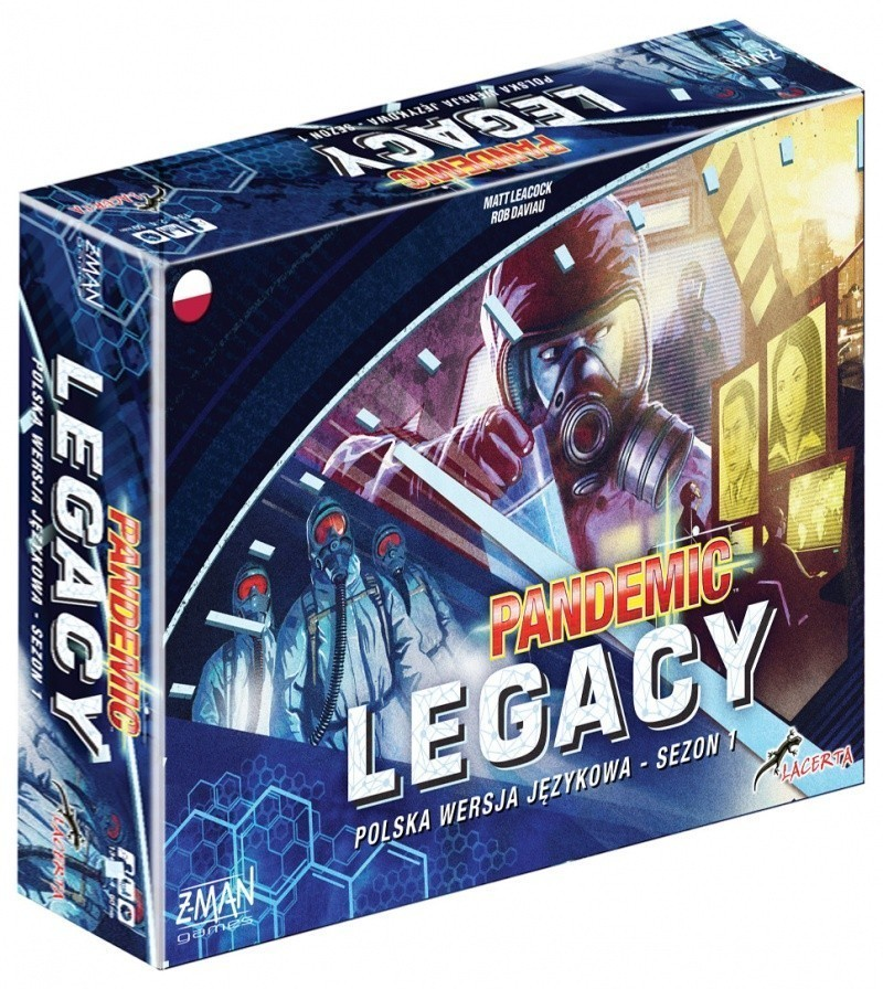 Pandemia (Pandemic) Legacy Seozn Pierwszy - Edycja niebieska (przedsprzedaż)