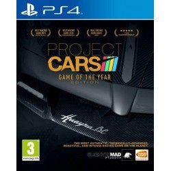 Project Cars GOTY PL PS4...