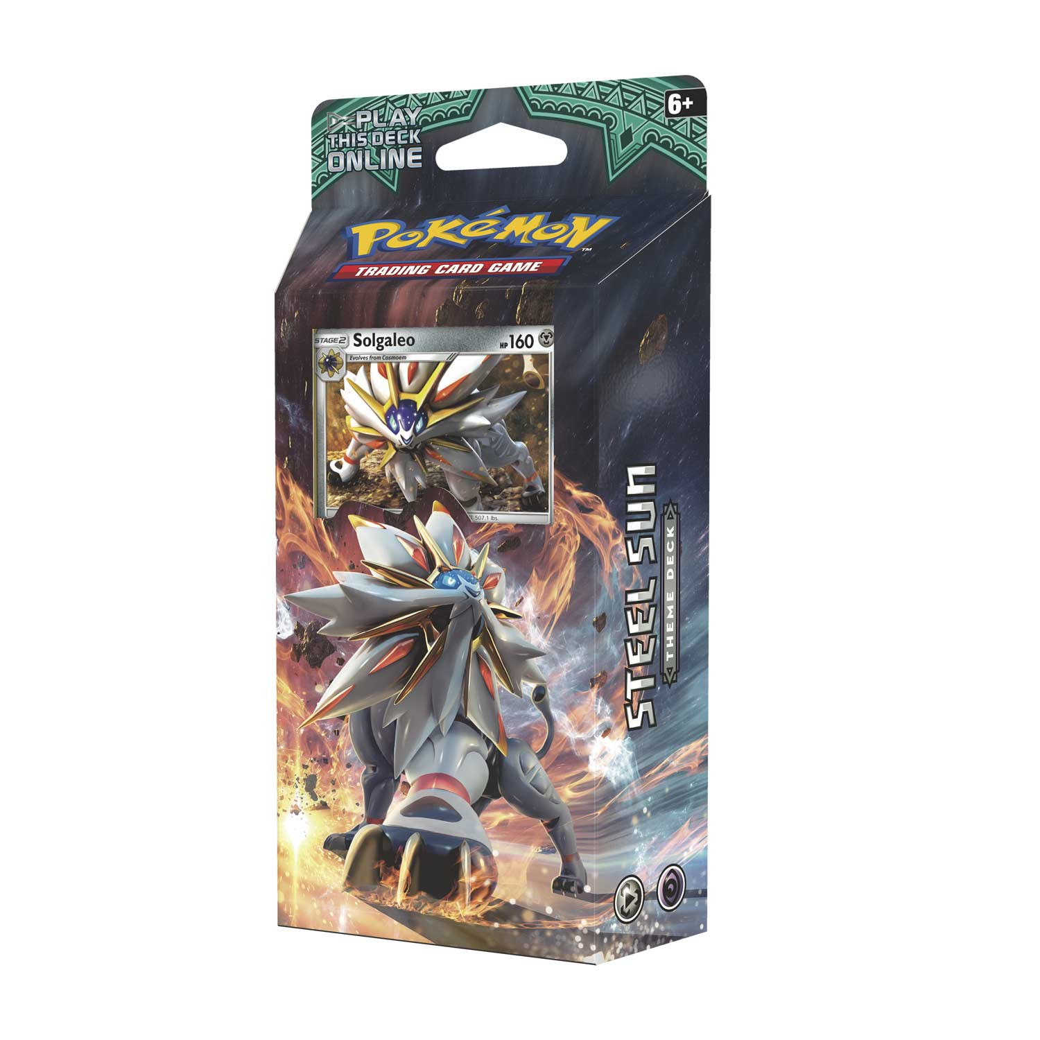 Pokemon TCG: Sun & Moon 2 Guardians Rising Steel Sun Theme Deck (Solgaleo)