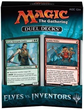 Magic The Gathering: Duel Decks - Elves vs. Inventors