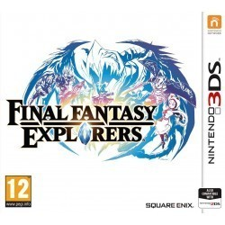 Final Fantasy Explorers 3DS...