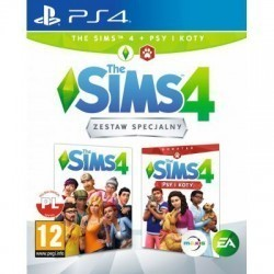 The Sims 4 + Psy i Koty PS4