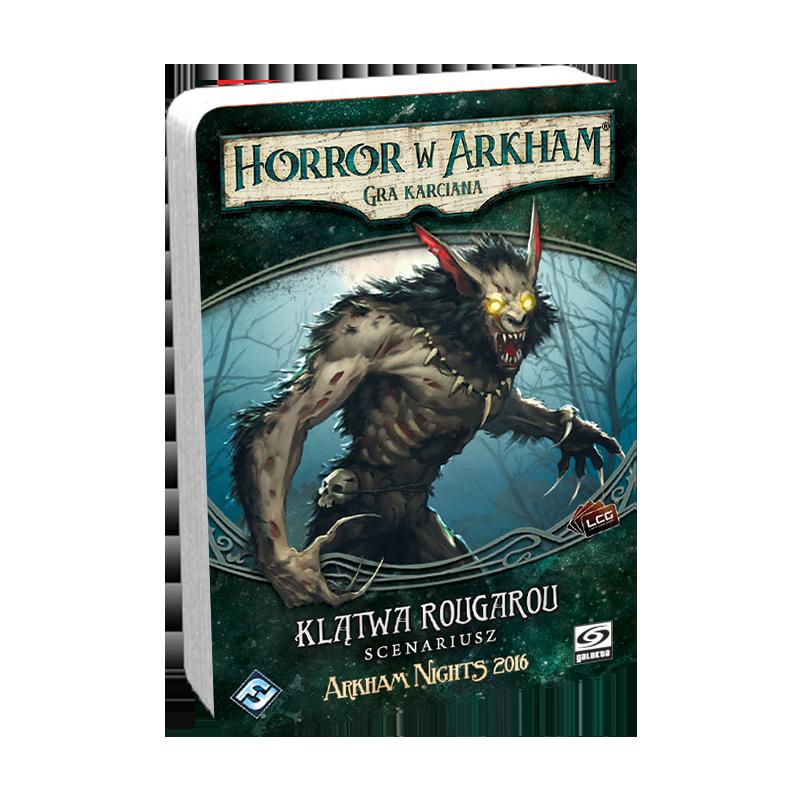 Horror w Arkham LCG Klątwa Rougarou
